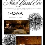 1Oak New Years Eve